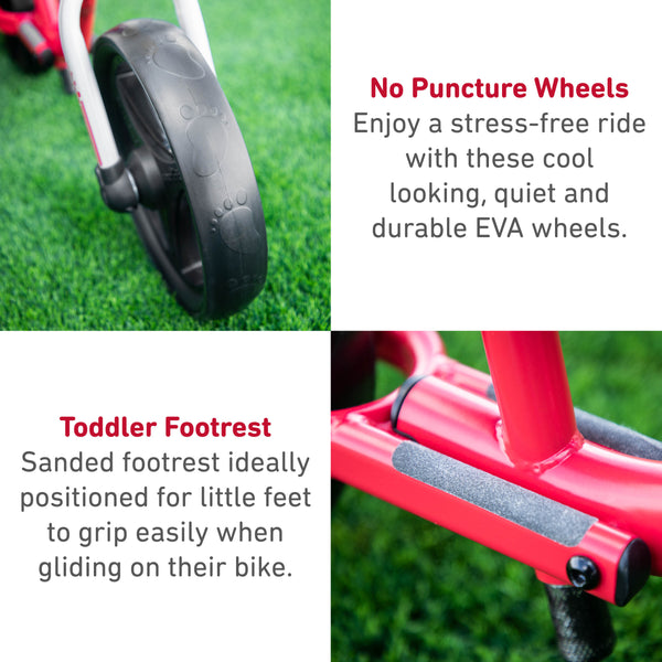 SmarTrike Folding Balance Bike Red Product Details 1