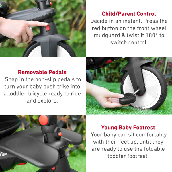 SmarTrike STR5 7-in1 Folding Baby Trike Features - page 1