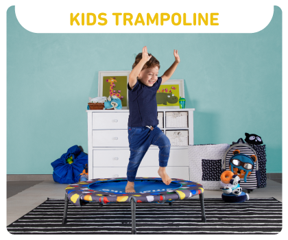 smartrike three-in-one trampoline activity centre
