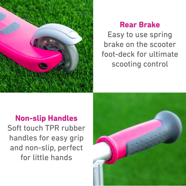 smartrike T1 pink scooter product features pt1