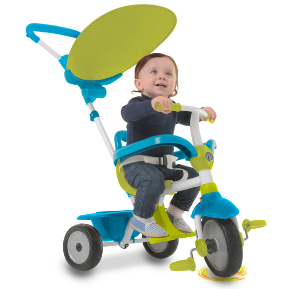 Zip™ Baby Tricycle - Blue & Green