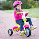 Zip™ Baby Tricycle - Pink & Green