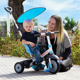 smartrike fisher price charm plus blue baby and mother