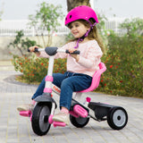 buy fisher price smartrike charm plus pink classic tricycle with toddler girl riding