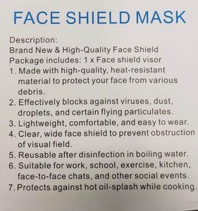 The Face Shield - 5 Pack
