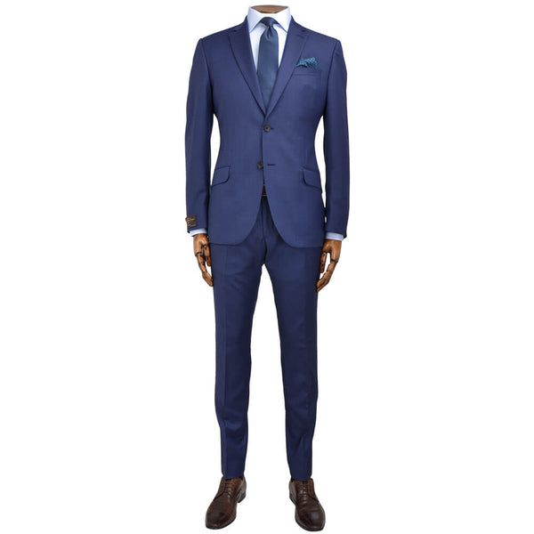 Vitale Barberis Canonico Mid-Blue Suit