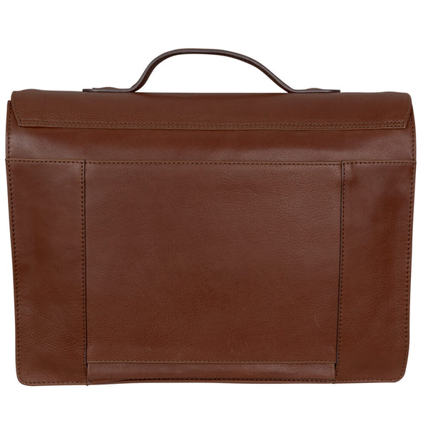 Tan Vintage Messenger Bag - Gagliardi