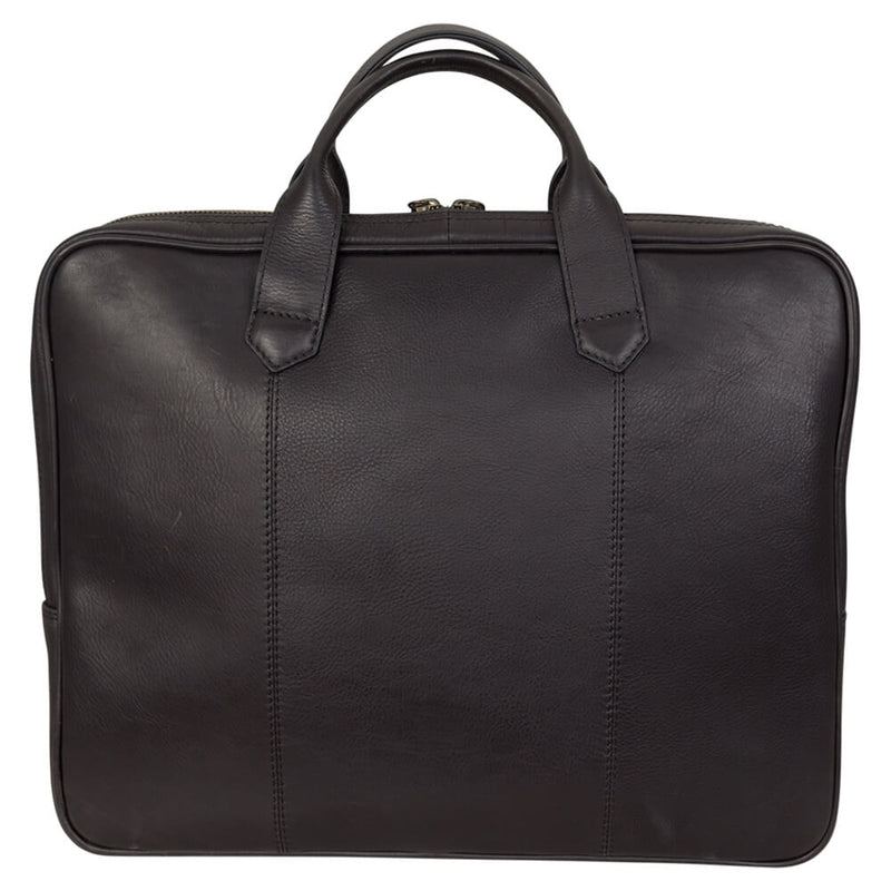 Black Computer Bag - Gagliardi