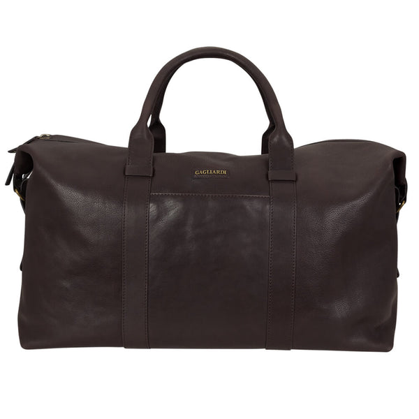 Brown Weekend Travel Bag - Gagliardi
