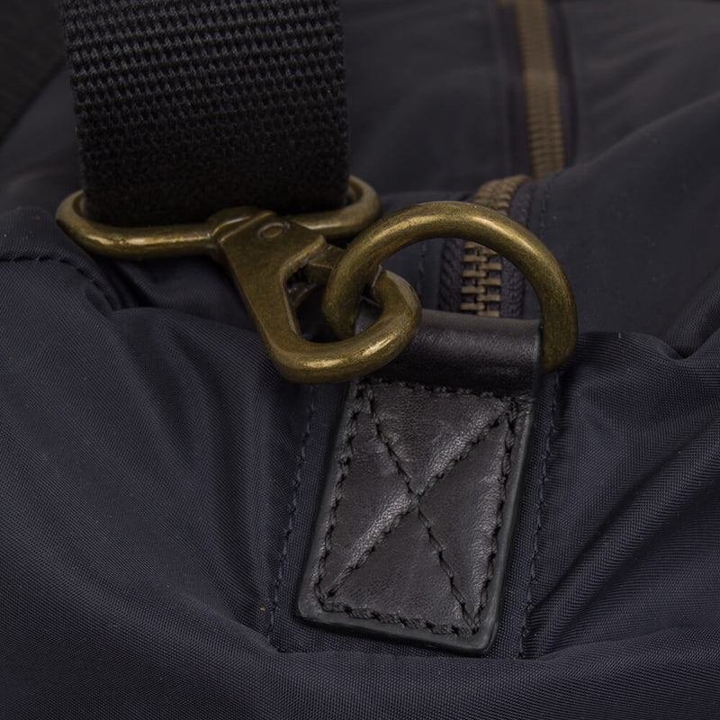 Navy Nylon Gym Bag - Gagliardi