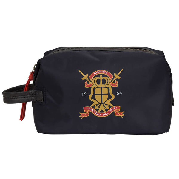 Navy Nylon Wash Bag - Gagliardi