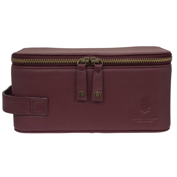 Burgundy Washbag - Gagliardi