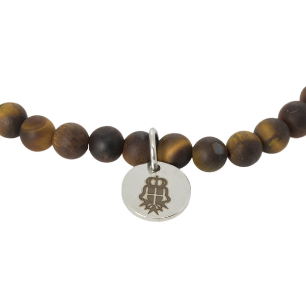 Eye of the Tiger Beaded Bracelet - Gagliardi