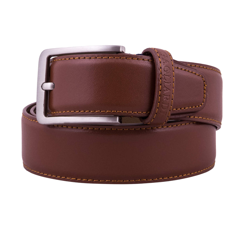 Gagliardi Belts Leather Tan