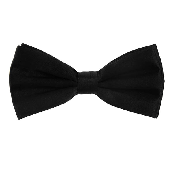 Black Silk Bow Tie - Gagliardi