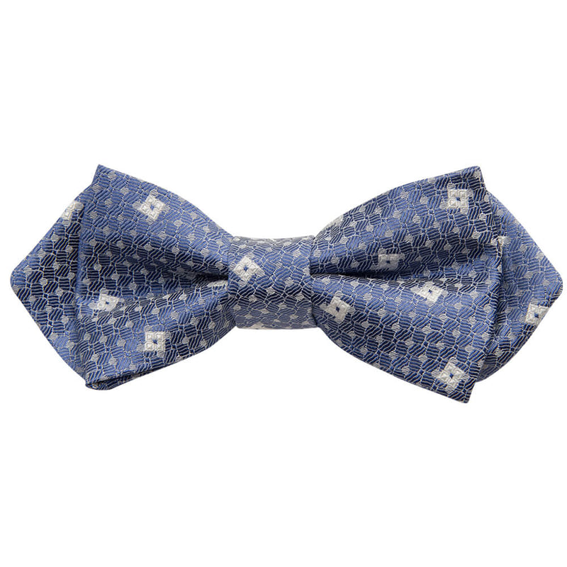 Royal Blue Square Bow Tie - Gagliardi