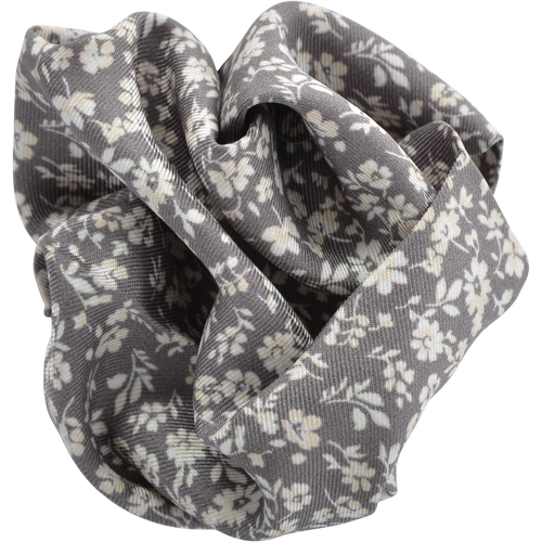 Grey And White Floral Pocket Squares - Gagliardi