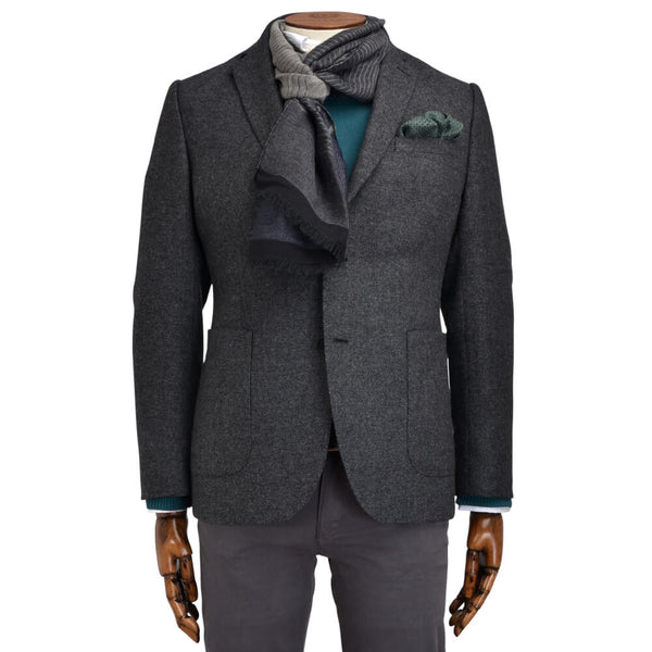 Grey Textured Jacket - Gagliardi