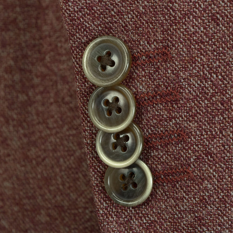 Rust Speckled Jacket - Gagliardi