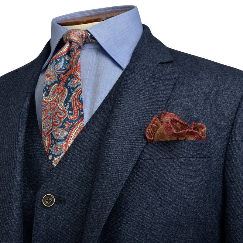Blue Speckled Jacket - Gagliardi