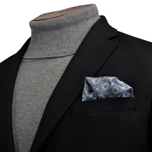 Black Textured Jacket - Gagliardi