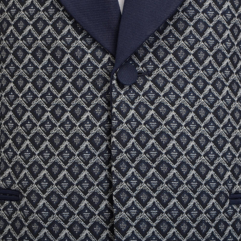 Diamond Jacquard Evening Jacket