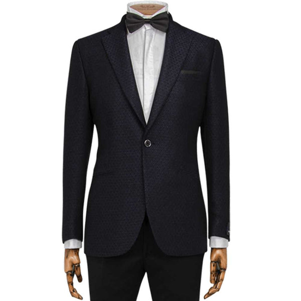 Royal Diamond Dash Weave Dinner Jacket