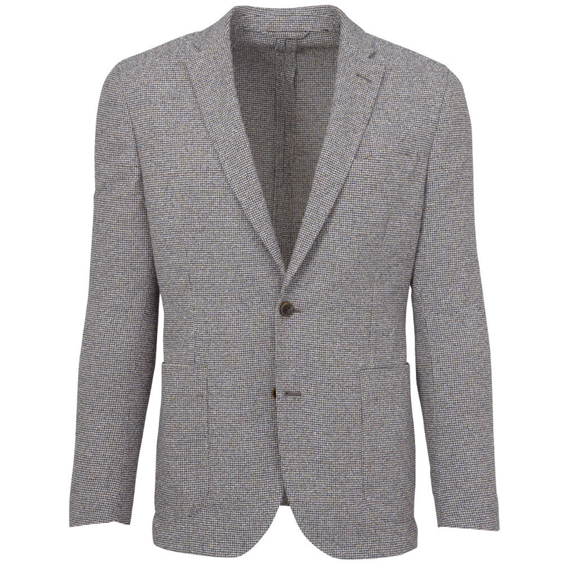 Brown Puppytooth Jacket - Gagliardi