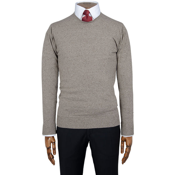 Stone Mini Roll Crew Neck - Gagliardi