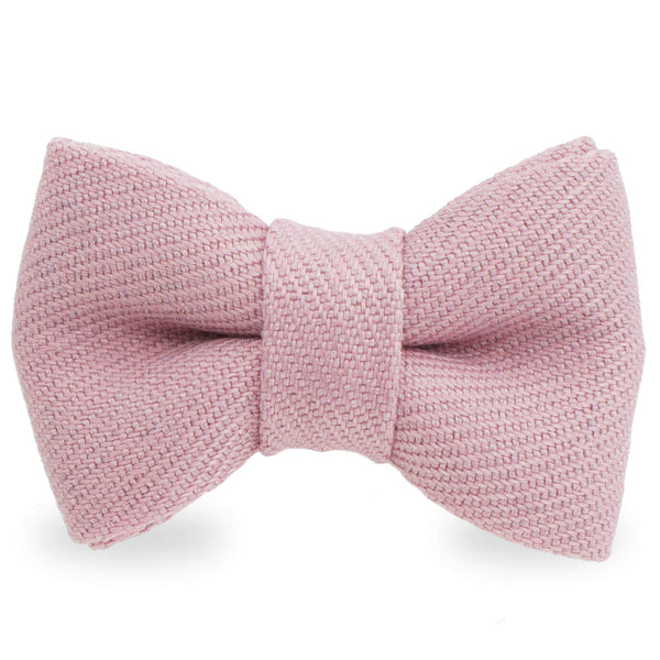 Bow Knot Pink Lapel Pin