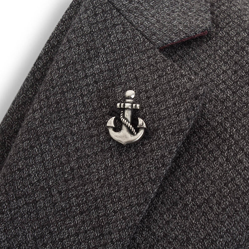 Vintage Anchor Lapel Pin - Gagliardi