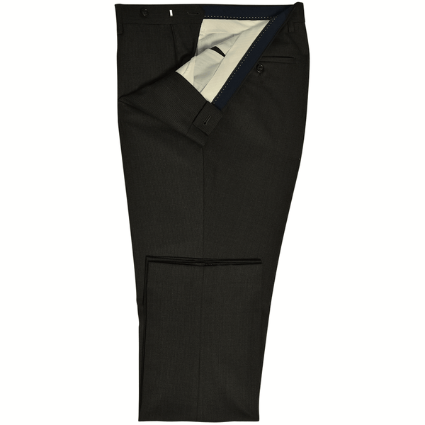 Charcoal Grey Pinstripe Mix & Match Trousers - Gagliardi
