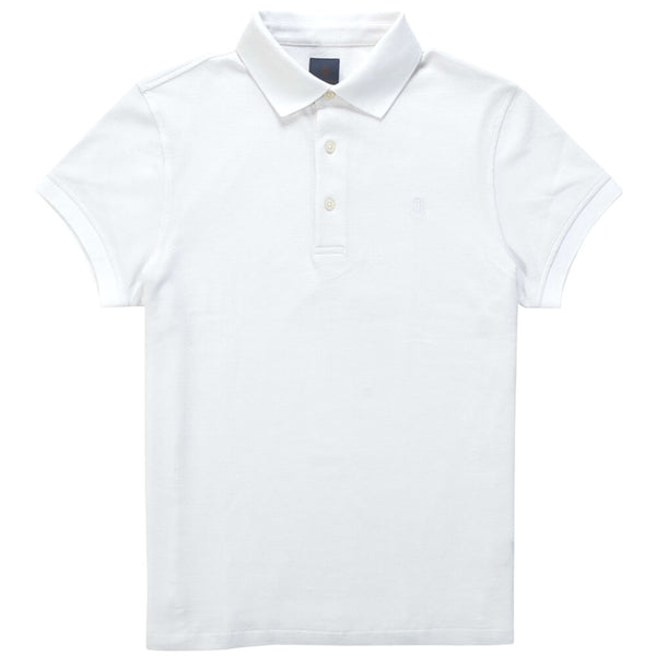 White Cotton Polo - Gagliardi