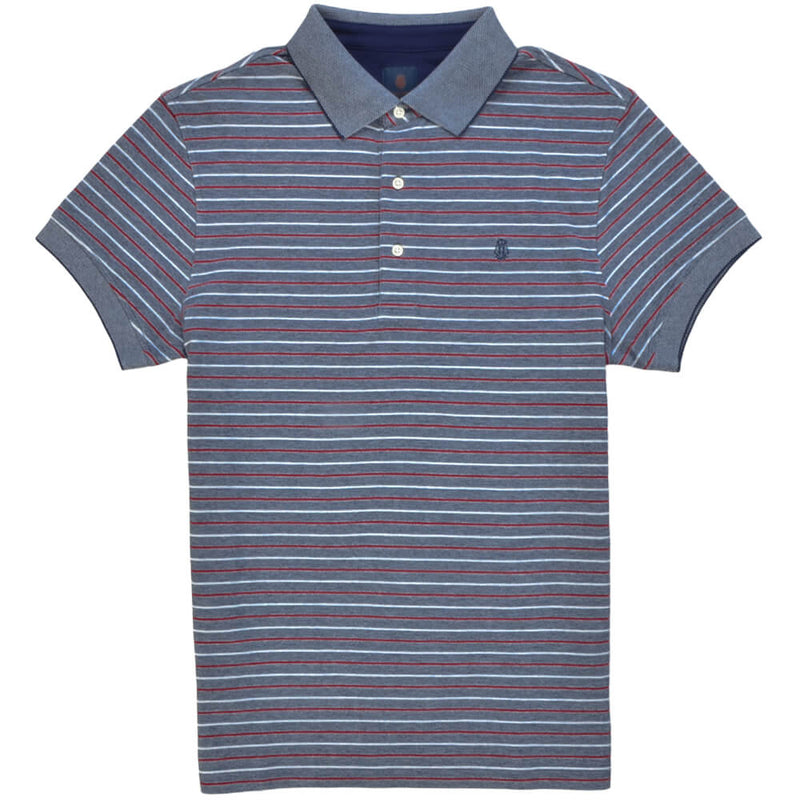 Blue Cotton Polo - Gagliardi