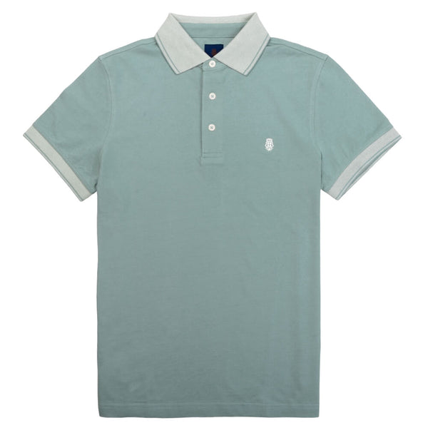 Light Green Cotton Polo - Gagliardi