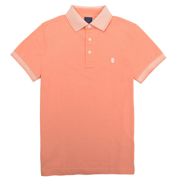 Peach Cotton Polo - Gagliardi