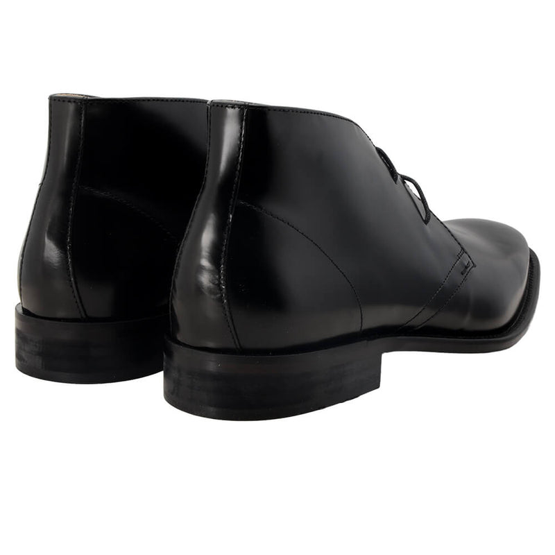 Black Leather Boots - Gagliardi