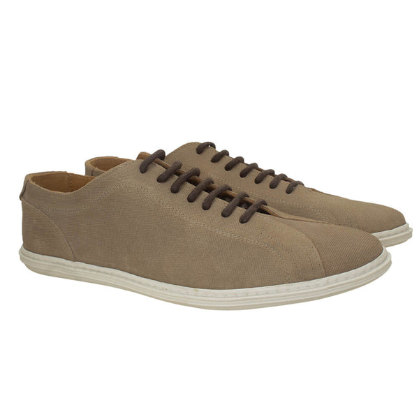 Beige suede casual shoes - Gagliardi