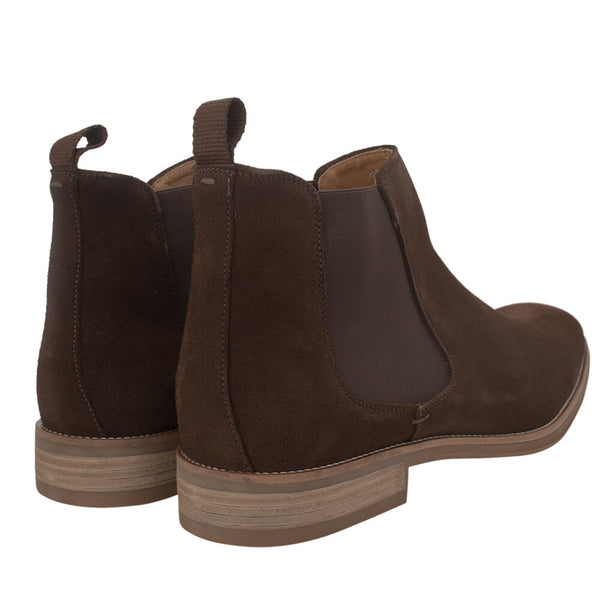 Brown suede boots - Gagliardi
