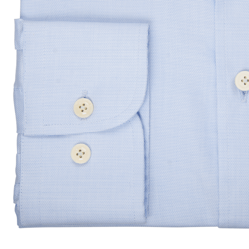 Sky Micro Jacquard Business Shirt