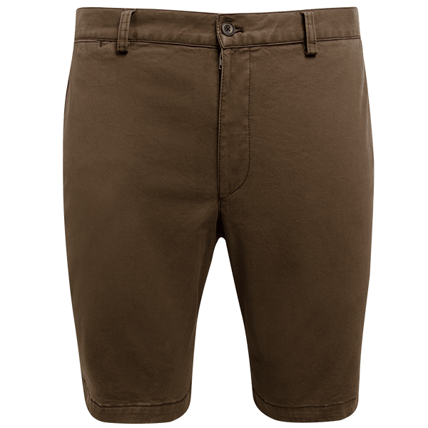 Taupe Twill Shorts