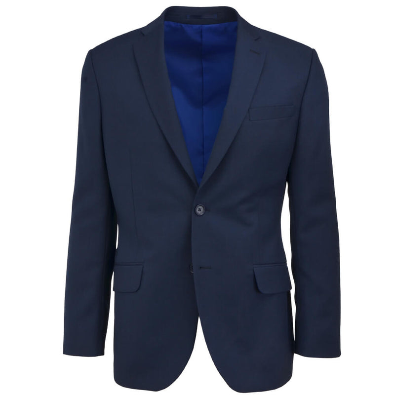 Navy Check Suit - Gagliardi