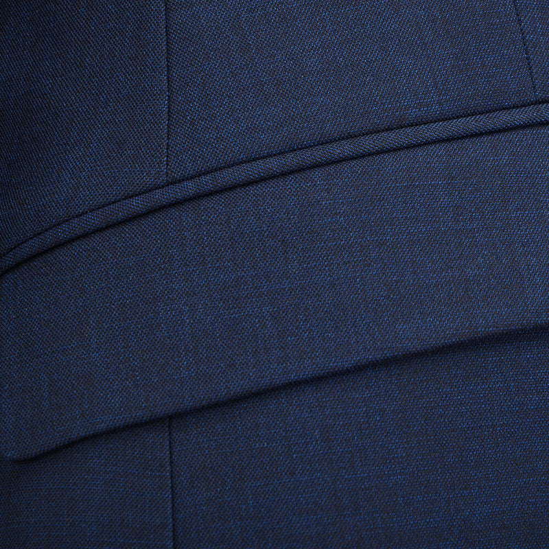 Blue Shark Skin Suit - Gagliardi