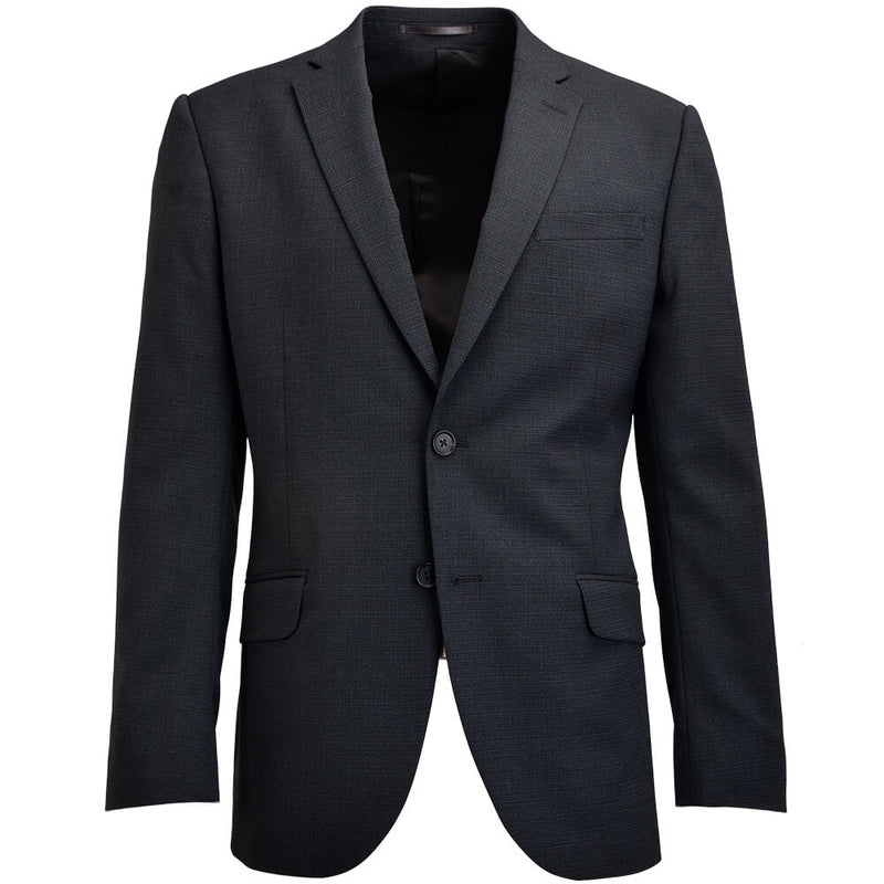 Charcoal Broken Micro-check suit - Gagliardi