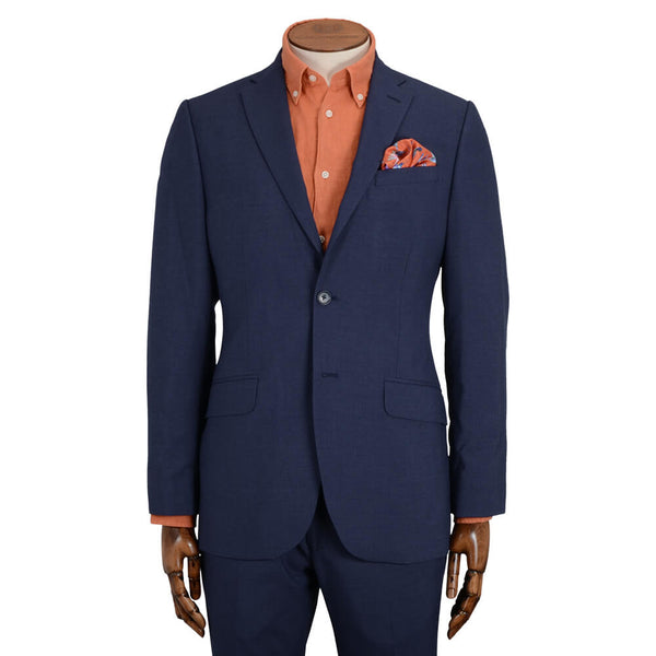 Blue Mouline Suit - Gagliardi