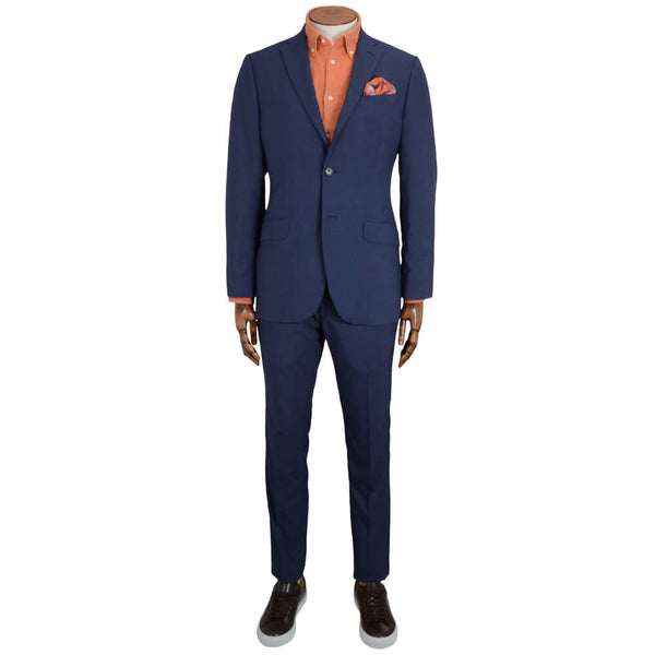 Blue Mouline Suit