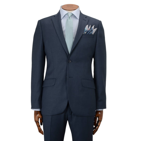 Blue Crepe Suit