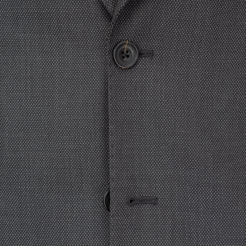 Grey Birds Eye Suit - Gagliardi