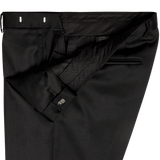 Black Plain Evening Dinner Trousers - Gagliardi