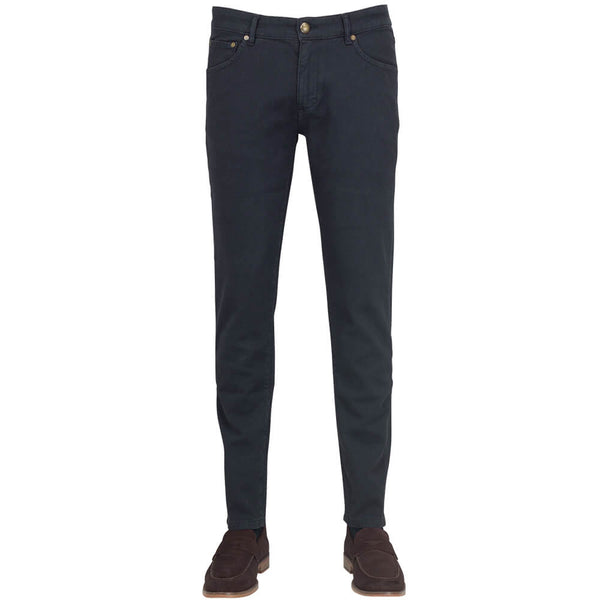 Black Five Pocket Trousers - Gagliardi